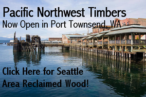 Pacific Northwest Timbers Seattle Area Reclaimed Wood