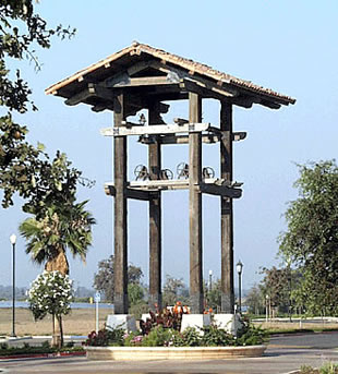 Canby Bell Tower Constructed with Antique Wood