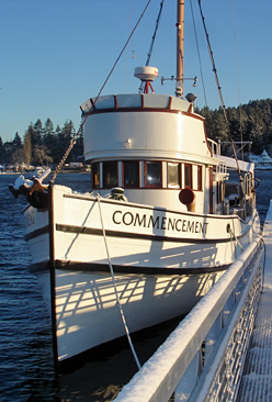 Commencement Training Vessel