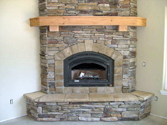 Corner Fireplace Mantels On Pinterest Corner Fireplaces