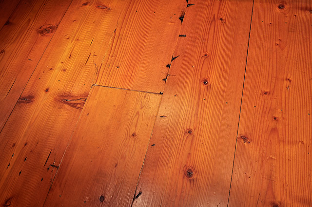 Mid Grade Douglas Fir Yosemite Wide Plank Reclaimed Wood Flooring