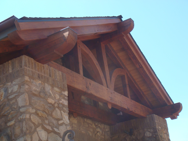 Sanded Reclaimed Timbers Installed, Sanded, Stained & Oiled