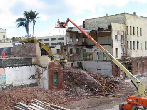 Pacific States Environmental Deconstruction of San Quentin Hospital