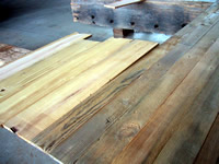Beautiful Reclaimed Wood From Yellow Pine